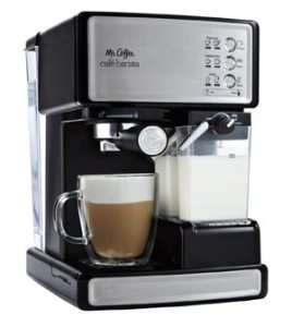 Mr. Coffee Cafe Barista Espresso Maker with Automatic Milk Frother
