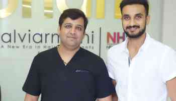 Harshal Patel Hair Transplant Results after 10 months. (Repair and Restoration), Dr.Arihant Surana