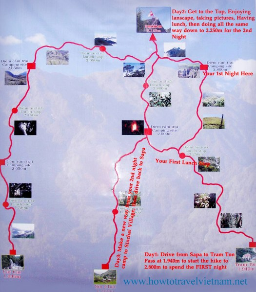 Trails to Fansipan Summit