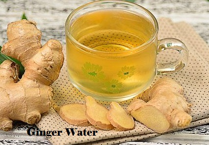 ginger water recipe