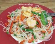 Rice noodles recipe