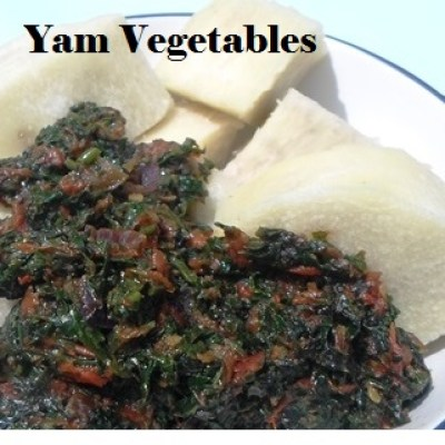 Yam and Vegetables
