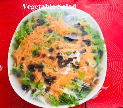 Vegetable salad recipes
