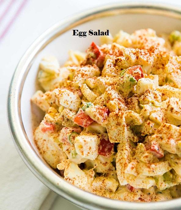 hard boiled egg salad