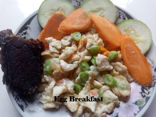Healthy Egg Breakfast