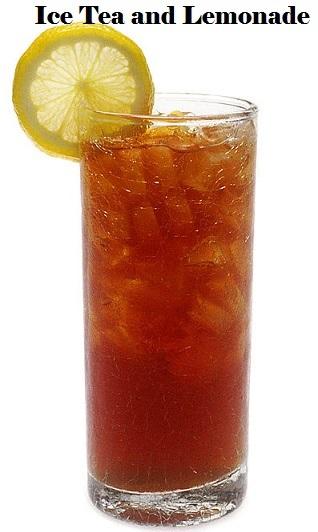 Iced tea and Lemonade