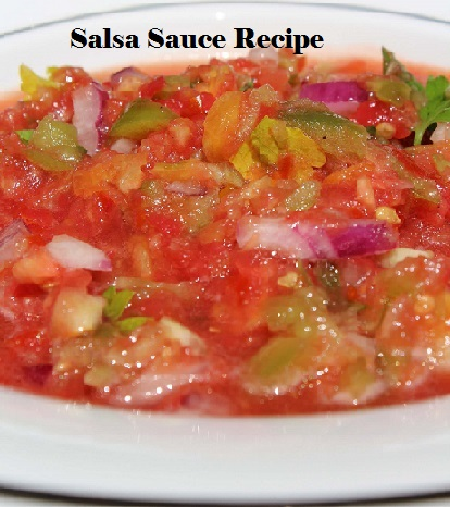 salsa sauce recipe