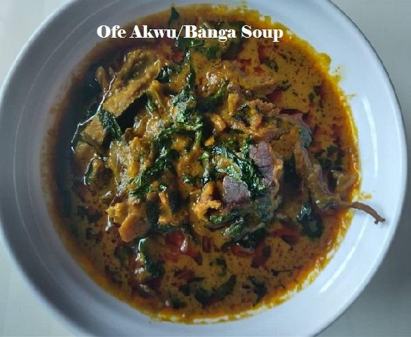 Banga soup recipe