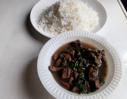 Cow Meat Pepper Soup
