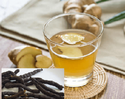 Uda Seed and Ginger for Flat Tummy