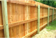 Build a Wood Privacy Fence