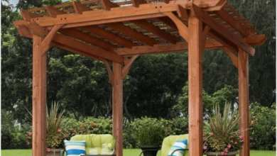 How To Build a Freestanding Pergola | Best Home Gear