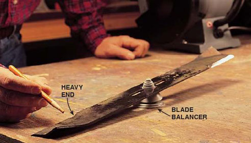 Lawn mower blade balancing tool | Best Home Gear