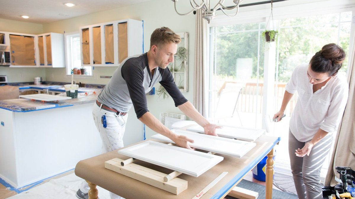 How To Paint Kitchen Cabinets   Best Home Gear