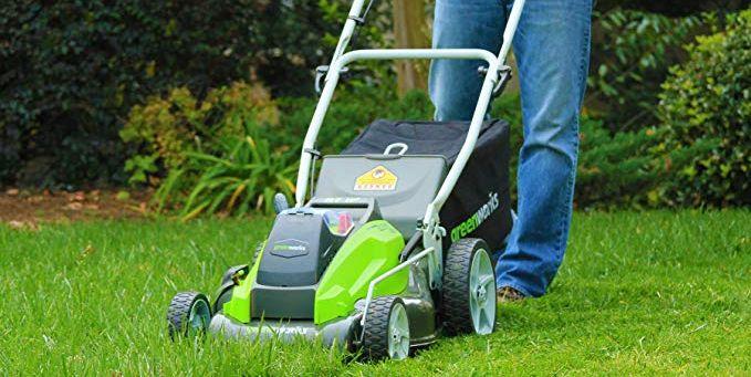 Greenworks battery powered mower - best home gear
