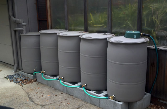 Connecting Multiple Rain Barrels - Best Home Gear
