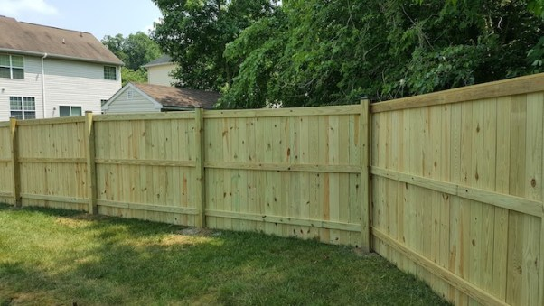 Homeowner side of fence - Best Home Gear