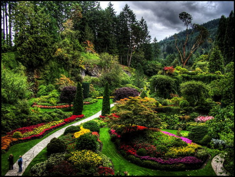 Amazing Gardens With Figures From Plants Best Home News