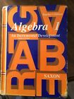 Saxon Algebra 1 An Incremental Development TEACHERS EDITION READ DESCRIPTION