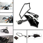 High quality One Pair Universal Motorcycle Bike Scooter 8mm Rearview Side Mirror