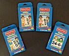 Lot of 4 BRAND NEW sets of Fisher Price Add Subt Multip  Divi flash cards