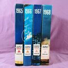yf The Book of Knowledge Annual Set of 4 1965 1968 Grolier