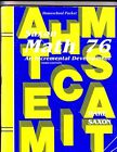 Saxon Math 76 An Incremental Development Homeschool Packet Including Sugge