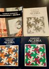 Elementary Algebra Set by Harold R Jacobs 1979 Hardcover 4 Books
