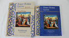 First Form Latin Student Workbook and Textbook Very Used