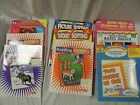 9 childrens WORKBOOK LOT mixed never used