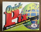 NEW Quick Pix Geography Game Aristoplay Homeschool Educational Activity Learning