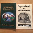 Boys and Girls of Colonial Days Grade 4 History Christian Liberty Press
