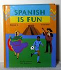 SPANISH IS FUN LIVELY LESSONS FOR BEGINNERS BOOK A SPANISH By Heywood NEW