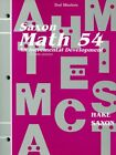 MATH 54 TEST MASTERS SAXON MATH 5 4 1996 2E NATIONAL