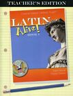 LATIN ALIVE BOOK ONE TEACHERS EDITION By Gaylan Dubose BRAND NEW