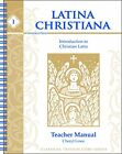 LATINA CHRISTIANA BOOK I INTRODUCTION TO CHRISTIAN LATIN By Cheryl Lowe VG+