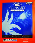 Tedco Toys SunArt Paper 8 x 10 Educational Art Kit For Ages 6+ Kids 88052 New