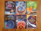 Lot 6 USBORNE Internet Linked LIBRARY OF SCIENCE Books ++ SPACE Energy PLANTS +