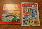 Lot of 2 PB Usborne Science Books Introduction to Chemistry Things Outdoors