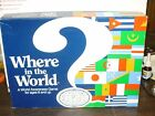 1986 Aristoplay Where in the World Game Geography World Awareness COMPLETE