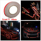 Reflective Sticker Tape Motorcycle Body Stripe Self Adhesive 1cm x 150feet Red