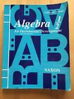 saxon algebra 1 2 textbook test forms answer key solutions manual