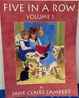 Five in a Row Five in a Row Volume 1 by Lambert Jane C