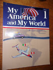 Abeka My America and My World Grade 1 History Geography Reader 3rd Edition