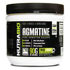 NUTRABIO PURE AGMATINE SULFATE POWDER DAILY MUSCLE NITRIC OXIDE 90 GRAMS