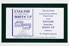 English from the Roots Up Flashcards English Learning Program Kids Education