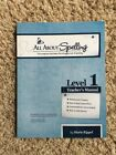 All about spelling level 1 Teachers Manual