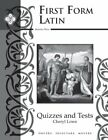 First Form Latin Tests amp Quizzes
