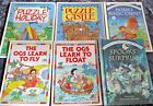 lot of 6 Usborne books Puzzle Castle  Holiday The Ogs Learn to Float  Fly