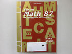Saxon Math 87 second edition Test Masters book Hake VG+ cond 1565771893